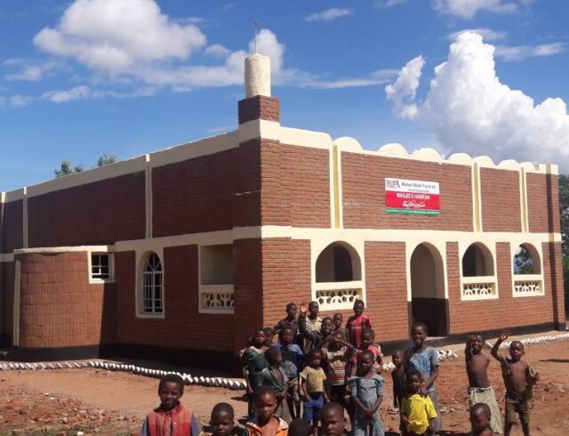 Masjid Hanifa complete 05 Malawi Relief Fund UK - Pay Zakat Online as well as Sadaqah, Lillah, Fitra and More - Malawi Relief Fund UK