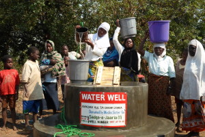 water well Muslim Sister water well Muslim Sister - Malawi Relief Fund UK