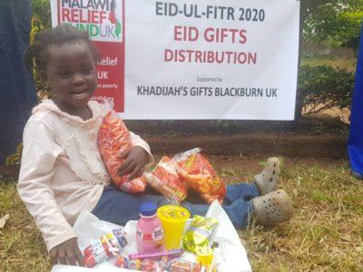 Khadijas Gifts 10 Khadija Valli (age 9) Gifts Malawi's Children £2,450.00 - Malawi Relief Fund UK