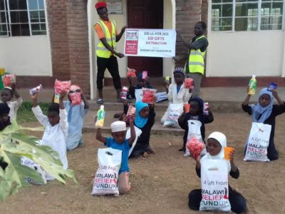 Khadijas Gifts 2 Khadija Valli (age 9) Gifts Malawi's Children £2,450.00 - Malawi Relief Fund UK