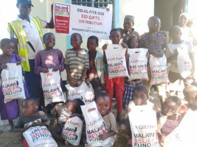 Khadijas Gifts 3 Khadija Valli (age 9) Gifts Malawi's Children £2,450.00 - Malawi Relief Fund UK