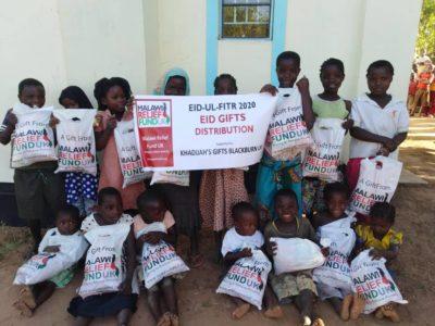Khadijas Gifts 4 Khadija Valli (age 9) Gifts Malawi's Children £2,450.00 - Malawi Relief Fund UK