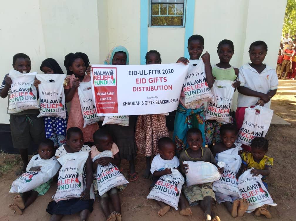 Khadijas Gifts 4 Eid Food Packs - Malawi Relief Fund UK