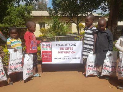 Khadijas Gifts Khadija Valli (age 9) Gifts Malawi's Children £2,450.00 - Malawi Relief Fund UK