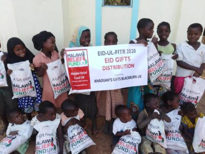 Khadijas Gifts 5 Khadija Valli (age 9) Gifts Malawi's Children £2,450.00 - Malawi Relief Fund UK