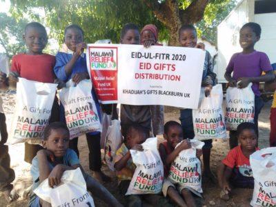 Khadijas Gifts 6 Khadija Valli (age 9) Gifts Malawi's Children £2,450.00 - Malawi Relief Fund UK