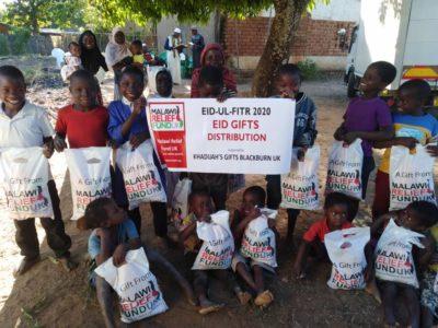 Khadijas Gifts 7 Khadija Valli (age 9) Gifts Malawi's Children £2,450.00 - Malawi Relief Fund UK