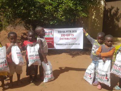 Khadijas Gifts 8 Khadija Valli (age 9) Gifts Malawi's Children £2,450.00 - Malawi Relief Fund UK
