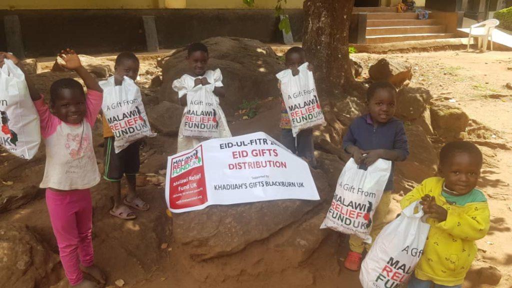Khadijas Gifts 9 Eid Food Packs - Malawi Relief Fund UK