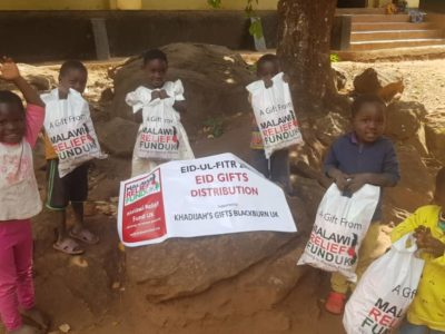 Khadijas Gifts 9 Khadija Valli (age 9) Gifts Malawi's Children £2,450.00 - Malawi Relief Fund UK