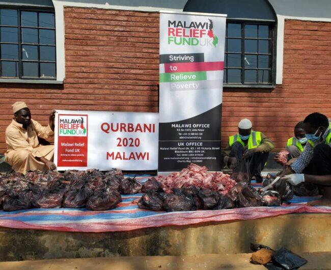 Malawi Relief Fund UK distributing Qurbani in Malawi 2020