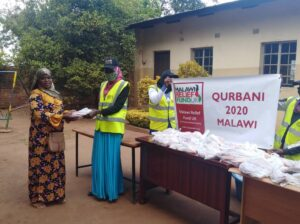 Malawi Relief Fund UK distributing Qurbani in Malawi 2020