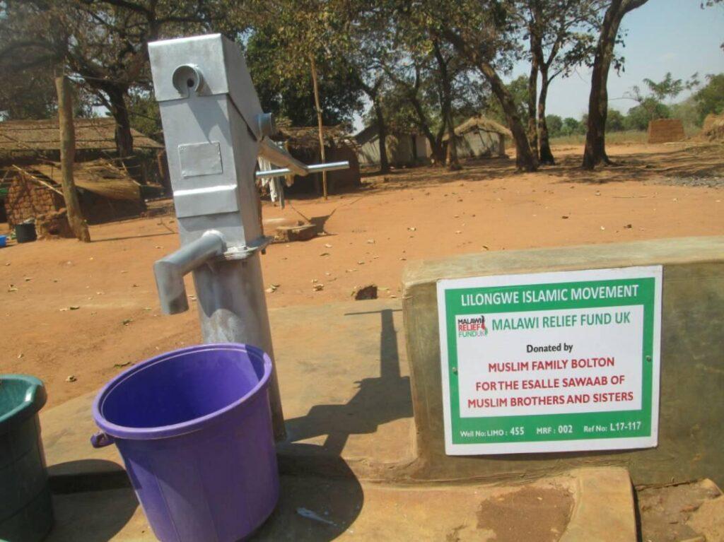 2017 09 12 PHOTO handpump 2 Water Wells - Malawi Relief Fund UK
