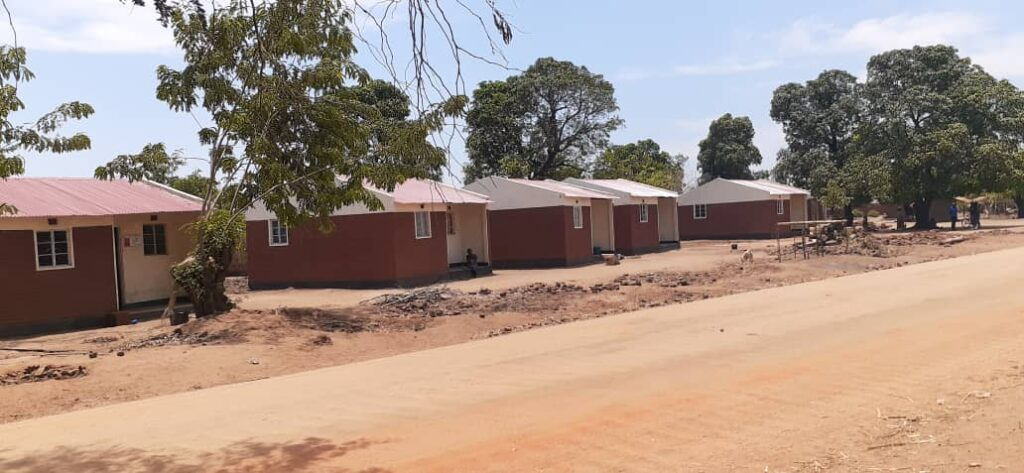 NEW BWANALI VILLAGE SALIMA Rebuilding Houses Rebuilding homes - Malawi Relief Fund UK