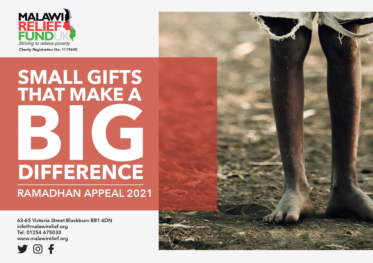 Ramadhan Appeal 2021.  Small Gifts That Make A Big Difference