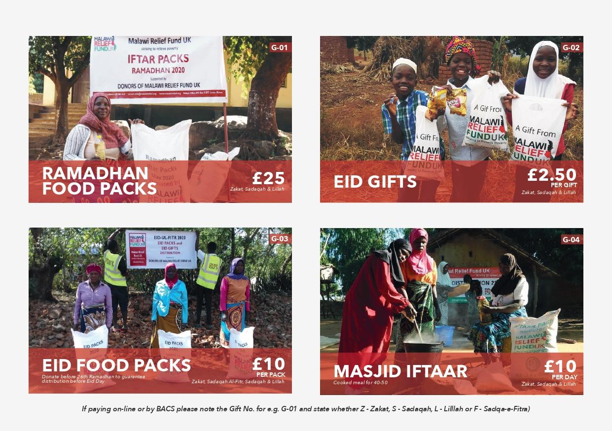 Ramadhan 2021 Leaflet - Malawi Relief Fund UK