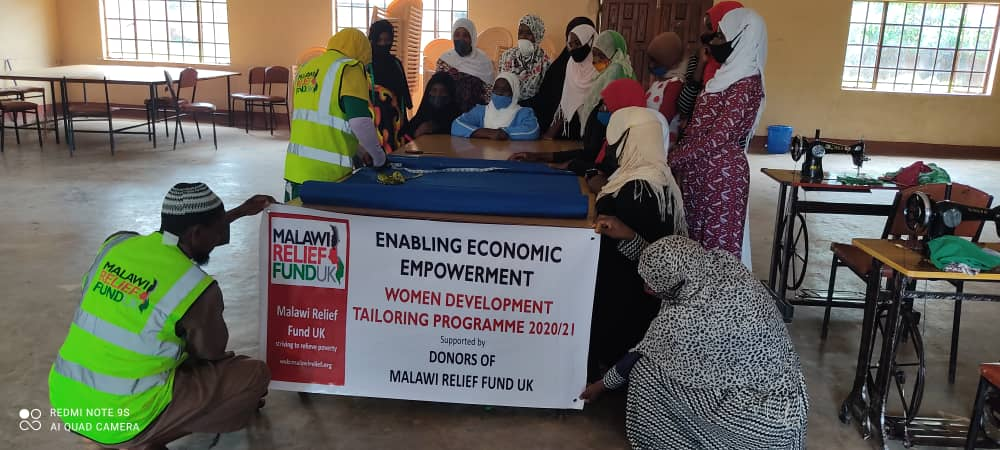 Enabling Economic Empowerment - Women's Tailoring Programme