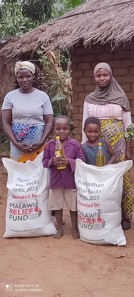 Iftar Packs Distribution Ramadhan 2021 4 Iftar Packs Being Delivered Ramadhan 2021 - Malawi Relief Fund UK