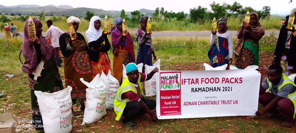 Iftar packs deliverd Malawi Relief Fund UK 2 Iftar Packs Being Delivered Ramadhan 2021 - Malawi Relief Fund UK