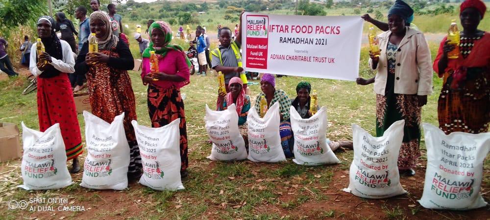 Iftar packs deliverd Malawi Relief Fund UK 3 Iftar Packs Being Delivered Ramadhan 2021 - Malawi Relief Fund UK