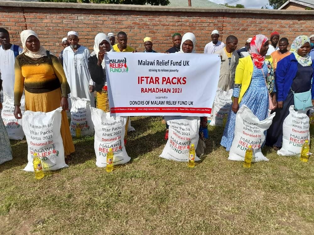 Iftar packs deliverd - Malawi Relief Fund UK