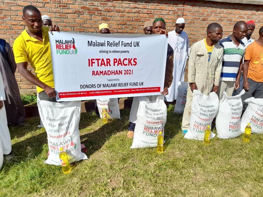 Iftar packs delivered Malawi Relief Fund UK 1 Iftar Packs Being Delivered Ramadhan 2021 - Malawi Relief Fund UK