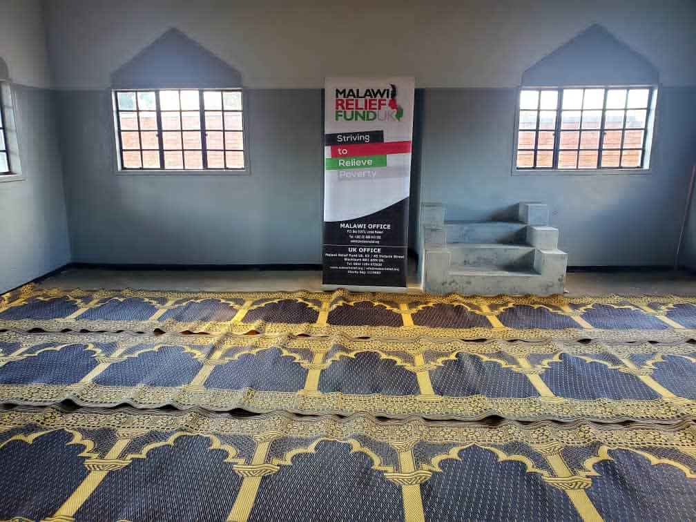 Musallah Deliverd To Masjid 2021 4 Musallah Donations Delivered To Masajids in Malawi - Malawi Relief Fund UK