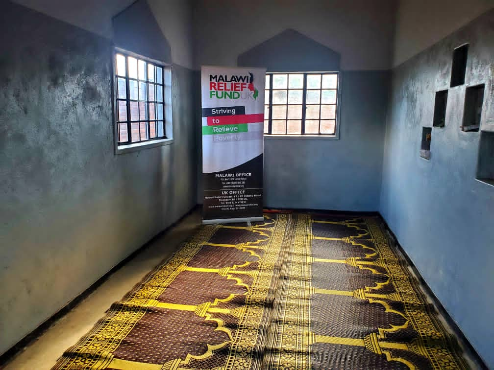 Musallah Deliverd To Masjid 2021 Musallah Donations Delivered To Masajids in Malawi - Malawi Relief Fund UK